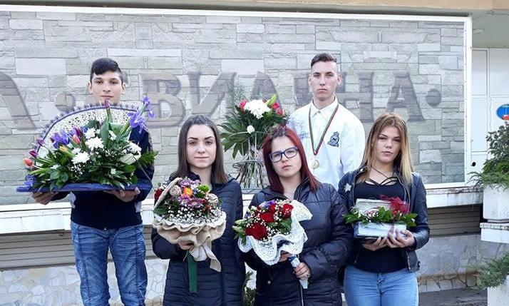 """Професионални изяви на учениците от ПГАТ ,, Цанко Церковски"""" - отново първенци"""