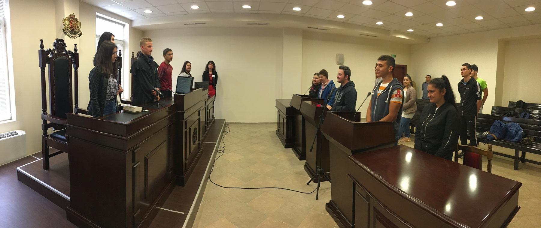 Ден на отворени врати в Районен съд - Павликени